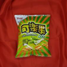 可樂果 - 台灣豌豆酥 -山葵口味 (57g) 全素